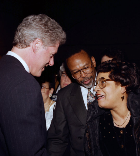 1993 at President Clinton's first Joint Center for Political & Economic Studies Awards Dinner.