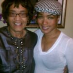 Angela Bassett and I