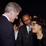 President Clinton at the White House for First Joint Center for Political and Economic Studies Awards Dinner in 1993.