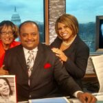 """Early Day Show"" with Roland Martin, host of TV One News and I. Traycee Gales assisted with the book project."