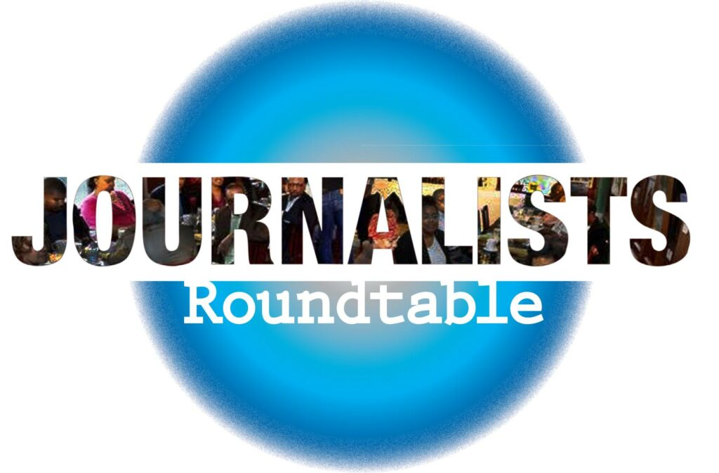 Journalist round table featuring rev dr barbara reynolds