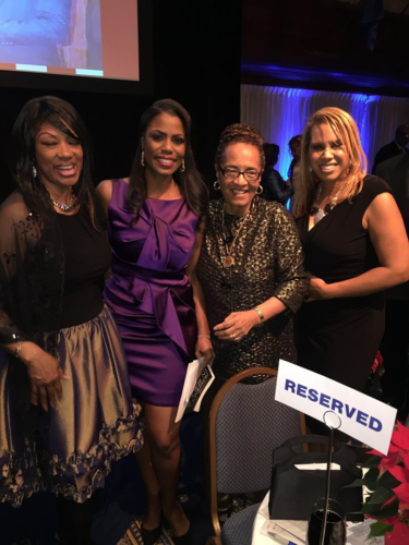 Omarosa was the Mistress of Ceremony and I was joined my many friends, family and other notable honorees such as JC Hayward.