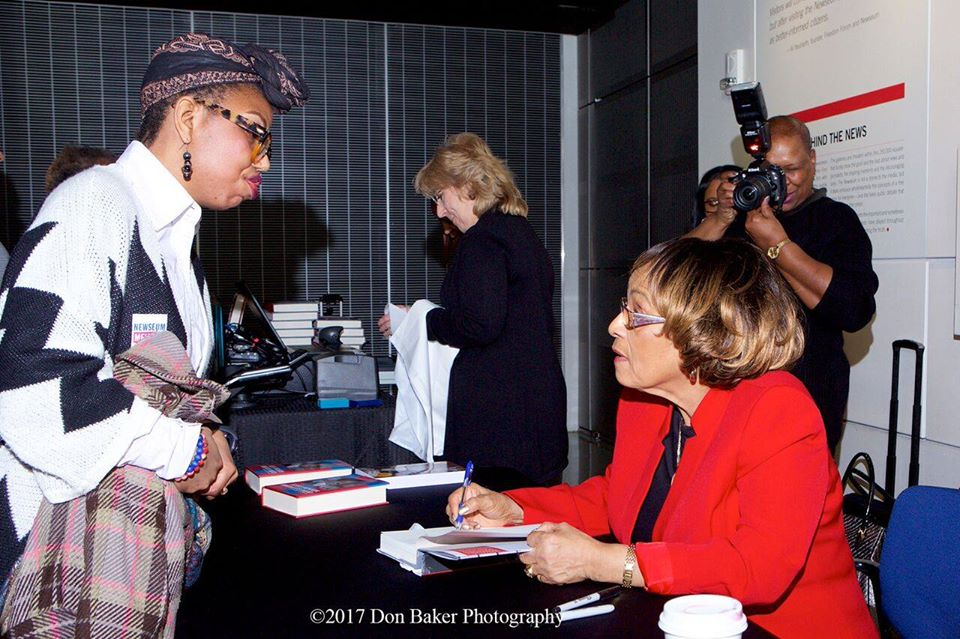 Book Signing: The Journalists Roundtable joined with the Newseum in Washington on Feb. 4, 2017, in a book event featuring the Rev. Barbara Reynolds
