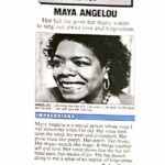 maya angelo interviews and still we rise