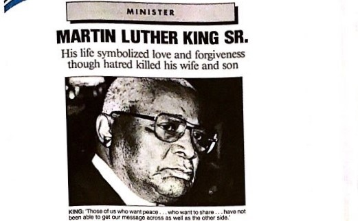 Martin Luther King Sr