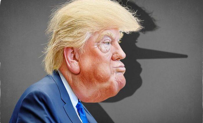 Trump Liar about corona virus