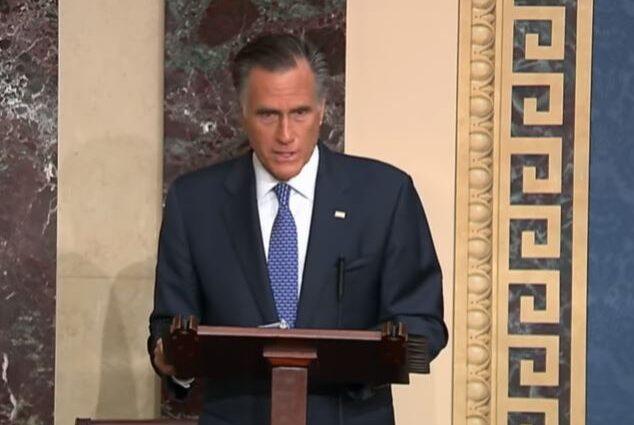 Mitt Romney decides to vote to impeach