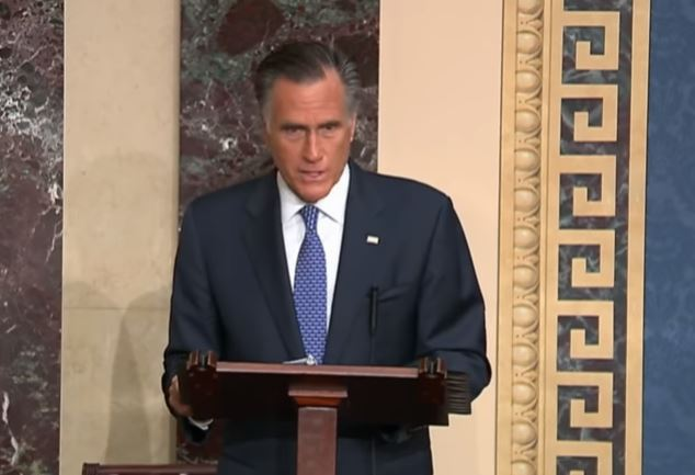 Mitt Romney decides to vote to impeach