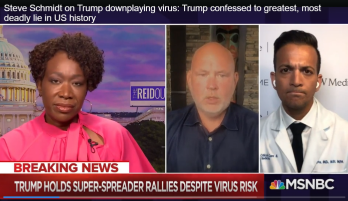 trump downplaying virus